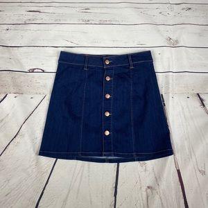 Juniors Denim Skirt